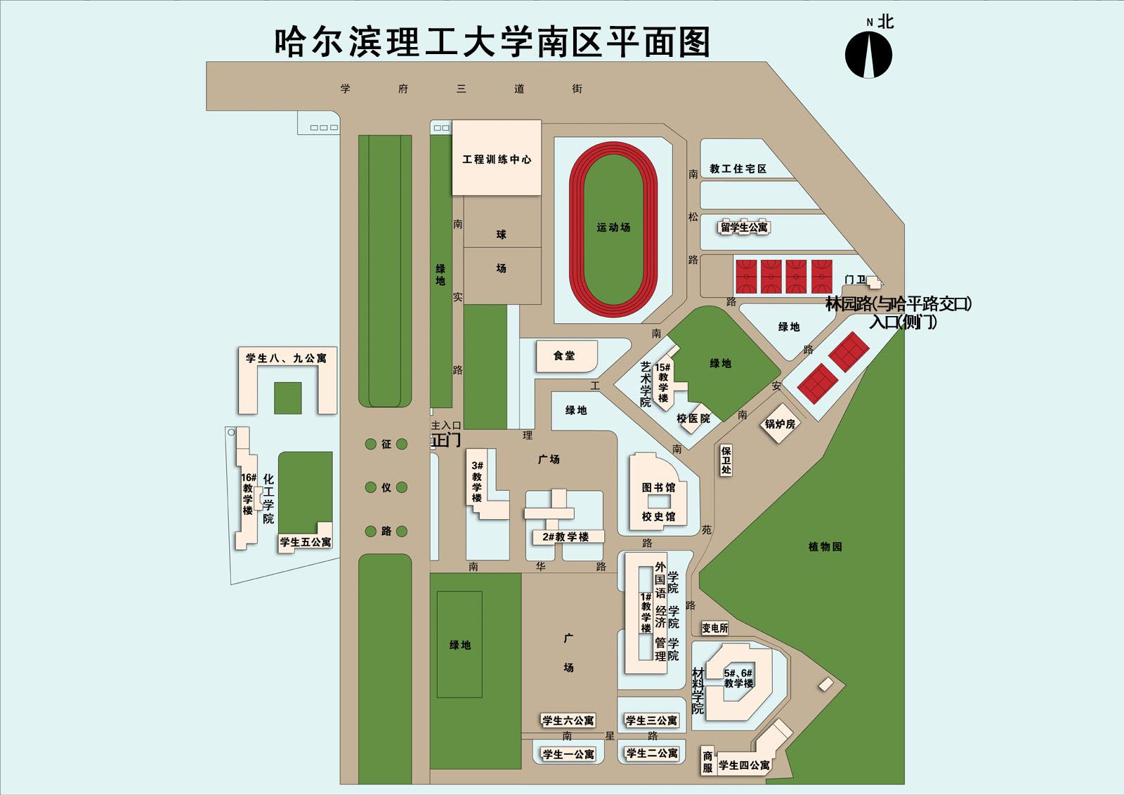 荣成校区平面图